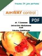 Airway Control Management, Rspm