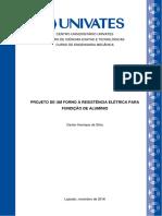 PROJETO DE UM FORNO À RESISTÊNCIA ELÉTRICA PARA.pdf