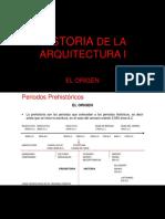 Arquitectura - Historia I