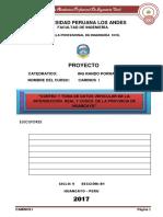 Informe de Conteo Vehicular Real y Cusco