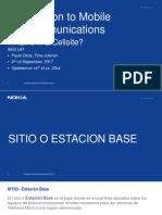 Introducción a Los Sitios de Telecomunicaciones