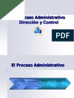 Dirección y Control