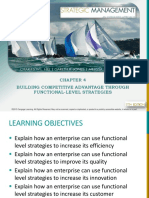 Hill and Jones Chapter 4 Strategy at Functional Level