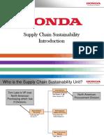Honda Sustainability Introduction