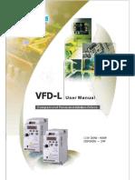 Manual book VFD Delta