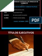 Titulo Ejecutivo Exposicion 1