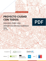Ciudad Con Todos Reporte 2 Para Quien Densificar