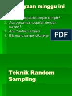 Random Sampling (3)