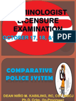 Comparative police system