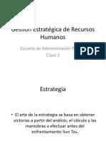 GP II Clase 2 Gestión Estratégica de RRHH.pptx
