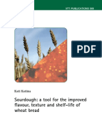 Sourdough, A Tool for the Improved Flavor
