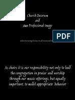 Church Decorum