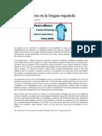 Desencuentros en La Lengua Española