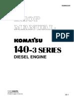 E/G komatsu 140-3