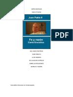 Carta Enciclica Fides Et Ratio - Juan Pablo II.pdf