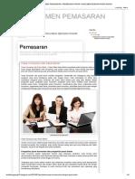 Manajemen Pemasaran_ Perbedaan Pasar Konsumen Dengan Pasar Bisnis