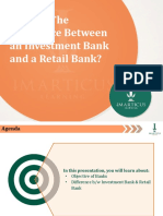 Investment Banking Vs Retail Banking