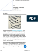 Accounting Terminology for College Students 20 Key Terms to Know