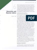 Kader-6-Maturation and Maturity Indices