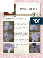 Shaped Rose Tutorial