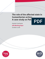The Role of Affected State in Humanitarian Action