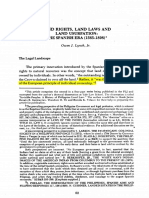LESSON Owen J. Lynch, Jr - Land Rights, Land Laws and Land Usurpation.pdf