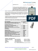 Analog Vibration Meter IRD