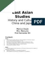 East Asian Culture Portfolio