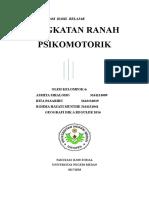MAKALAH PSIKOMOTORIK