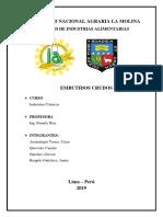 Informe - Chorizo y Salchicha