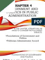 Chapter 4 Public Admin