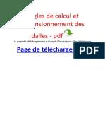 Sujet6 Cours Dalles
