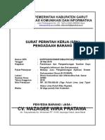 COVER Kontrak