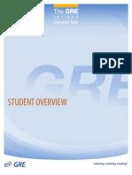 Prep GRE Test Change