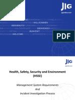 Orlando Workshop HSSE Management System