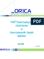 TYTAN Titanate Coupling Agent Overview - CCMB for Polyolefin 2018 06 v3