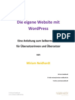 Die eigene Website mit Wordpress