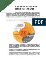 Objetivos de Un Sistema de Gestión de Contratos