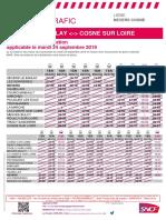Grève SNCF 24 septembre 2019