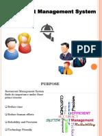 Restaunrant Management System