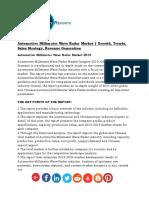 Automotive Millimeter Wave Radar Market Growth, Trends, Sales Strategy, Revenue Generation
