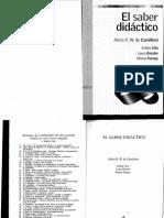 El Saber Didáctico Alicia R.W. de Camilloni