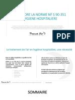 Livre Blanc Hygiène Hospitalière Norme NFS 90 351