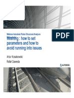 Webinar N°1 Meshing how to set parameters and how to avoid running into issues