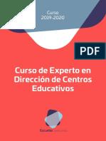 Formación Directivos 2019 2020
