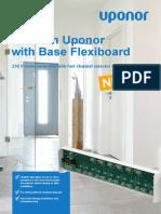Uponor Folder Base Flexiboard 230 v Room Control en 1089190