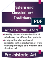 1st Q Western and Classical Art Traditions