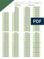 Answer Sheet LAPG Format