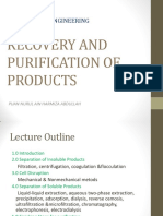 Ptt203 Recovery and Purification of Products