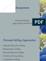 Personal-selling Approaches Ppt